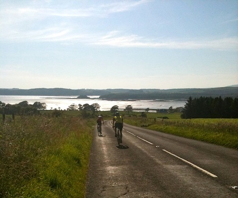 CYcling in Kirkcudbright Area