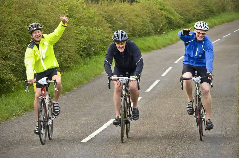 Cycling for Charity Galloway